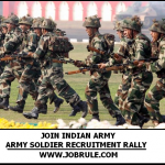 Join Indian Army Rally Online Registration Procedure