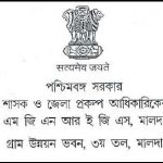 Malda District MGNREGS Latest Job Advertisement July 2016