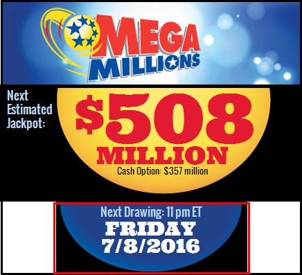 Mega Million Draw