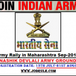 Nashik Devlali Army Ground Sena Bharti Rally September 2016 Online Registration
