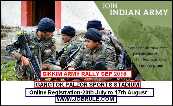 Sikkim Army Rally September 2016