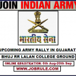 Bhuj RR Lalan College Army Bharti Rally October 2016