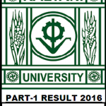Kalyani University B.A/B.Sc/B.Com Part-1 Result 2016