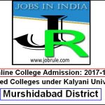 Murshidabad District Colleges List Online Admission 2017-2018