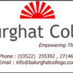 Balurghat College Merit List 2018