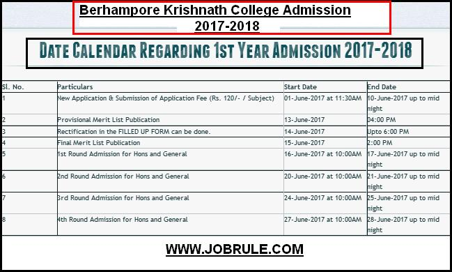 berhampore-kn-college-admission-2017