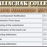 Kaliachak College Online Admission Merit List 2017