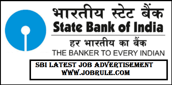 SBI-Job-2018 Job Application Form Of State Bank India on