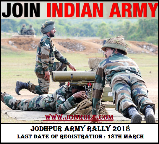 Jodhpur Army Rally 2018