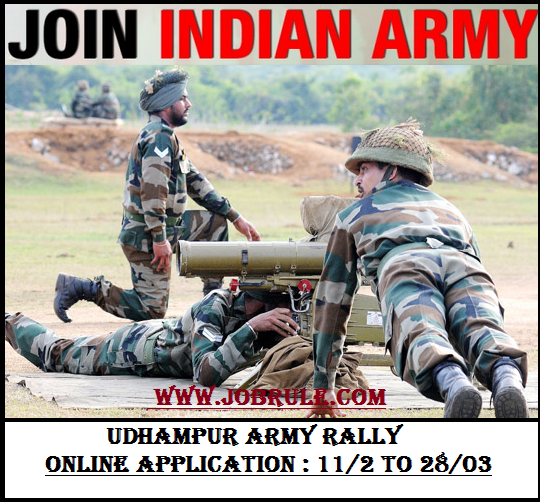 recruitment and army