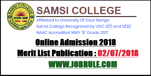 Samsi College Admission