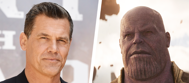 Josh Brolin Delivers Trump's Tweet