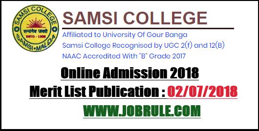 Samsi College Admission