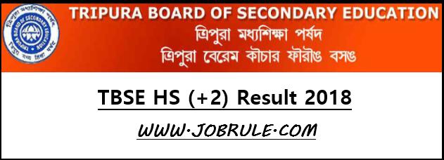 Tripura Board HS (+2) Result 2018