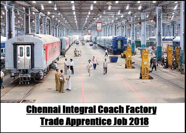 ICF Chennai Job 2018